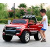 Детский электромобиль FORD RANGER NEW 4x4 2017 F650 (двухместный, полноприводный 4WD с резиновыми колесами и кожаным сиденьем)
