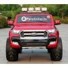 Детский электромобиль FORD RANGER NEW 4WD (ПОЛНЫЙ ПРИВОД, двухместный, резиновые колеса, кожа)