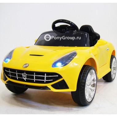 Детский электромобиль Ferrari O222OO (резиновые колеса, кожа)