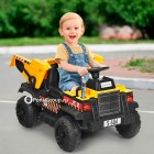 Детский электромобиль Грузовик S606 (резиновые колеса, кожа)
