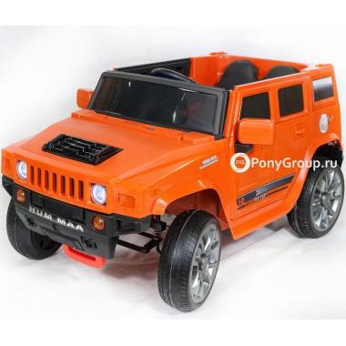 Детский электромобиль Hummer BBH1588 (с резиновыми колесами, кожаным сиденьем)