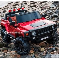 Детский электромобиль HUMMER H777MP НС9188 (ДВУХМЕСТНЫЙ, резиновые колеса, кожа)