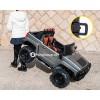 Детский электромобиль HUMMER H777MP НС9188 (двухместный с резиновыми колесами и кожаным сиденьем)