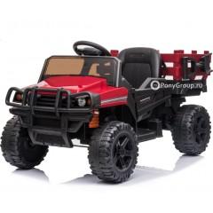 Детский электромобиль HUMMER TR 999 (резиновые колеса, кожа)