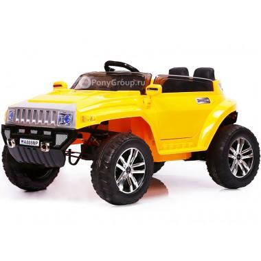 Детский электромобиль Hummer A888MP (резиновые колеса, кожа)