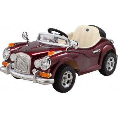 Детский электромобиль JE128R Retromobil