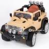 Детский электромобиль JEEP WRANGLER JJ-JJ235 (с резиновыми колесами, кожаным сиденьем)