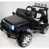 Детский электромобиль JEEP WRANGLER M777MM 4x4 (двухместный, полноприводный 4WD с резиновыми колесами и кожаным сиденьем)