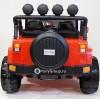 Детский электромобиль JEEP WRANGLER M777MM 4x4 (ПОЛНЫЙ ПРИВОД, ДВУХМЕСТНЫЙ, кожа, резиновые колеса)