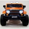 Детский электромобиль JEEP WRANGLER O999OO 4x4 (ПОЛНЫЙ ПРИВОД, кожа, резиновые колеса)
