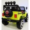 Детский электромобиль JEEP WRANGLER T008TT (кожа, резиновые колеса)