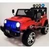 Детский электромобиль JEEP WRANGLER T008TT 4x4 (полный привод, кожа, резиновые колеса)