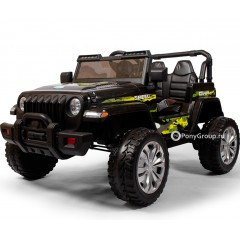 Детский электромобиль JEEP M007MP (кожа, резиновые колеса)