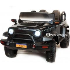 Детский электромобиль JEEP WRANGLER CH 9938 (ДВУХМЕСТНЫЙ, кожа, резиновые колеса)