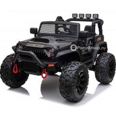 Детский электромобиль JEEP WRANGLER M999MP (ДВУХМЕСТНЫЙ, резиновые колеса, кожа)