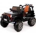 Детский электромобиль JEEP WRANGLER T010MP 4Х4 (ПОЛНЫЙ ПРИВОД, кожа, резиновые колеса)