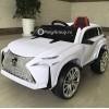 Детский электромобиль LEXUS E111KX (с резиновыми колесами, кожаным сиденьем)