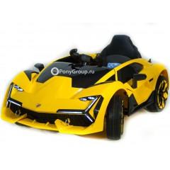 Детский электромобиль Lamborghini YHK2881 (резиновые колеса, кожа)