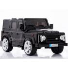 Детский электромобиль Land Rover Defender (резиновые колеса, кожа)