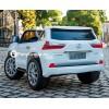 Детский электромобиль LEXUS LX570 4WD BK-F570 (двухместный, полноприводный 4х4 с резиновыми колесами и кожаным сиденьем)