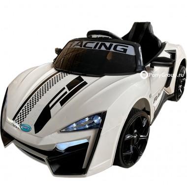 Детский электромобиль Lykan Sport Б777ОС (с резиновыми колесами, кожаным сиденьем)