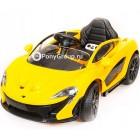 Детский электромобиль McLaren P1 (резиновые колеса, кожа)