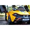 Детский электромобиль McLaren P1 672 R (с резиновыми колесами, кожаным сиденьем)