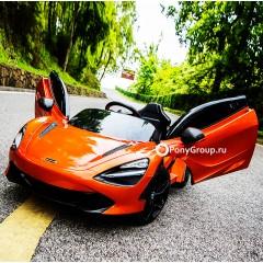 Детский электромобиль McLaren DKM720S DMD720S (резиновые колеса, кожа)