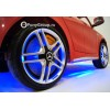 Детский электромобиль Mercedes-Benz CLA45 A777AA (резиновые колеса, кожа, подсветка)