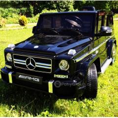 Детский электромобиль Mercedes-Benz G63 AMG HAL168 (резиновые колеса, кожа)