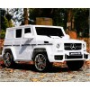 Детский электромобиль Mercedes-Benz G63 AMG (резиновые колеса, кожа)