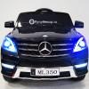 Детский электромобиль Mercedes-Benz ML350 (резиновые колеса, кожа)