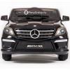 Детский электромобиль Mercedes-Benz ML63 AMG LUXE (сиденье кожа, резиновые колеса)