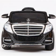 Детский электромобиль Mercedes-Benz S600 AMG ZP8003 (резиновые колеса, кожа)