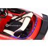 Детский электромобиль Mercedes-Benz SLS A333AA VIP (резиновые колеса, кожа, регулировка сиденья)