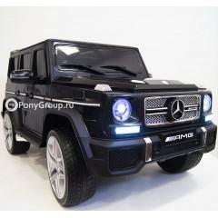 Детский электромобиль Mercedes-Benz G65 AMG (резиновые колеса, кожа)