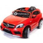 Детский электромобиль Mercedes-Benz A45 AMG (резиновые колеса, кожа)