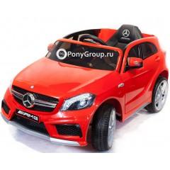 Детский электромобиль Mercedes-Benz A45 AMG CH9988 (резиновые колеса, кожа)