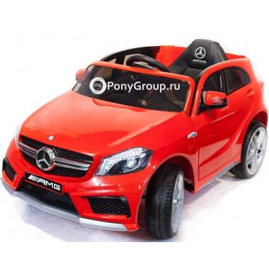 Детский электромобиль Mercedes-Benz A45 AMG CH9988 (с резиновыми колесами, кожаным сиденьем)