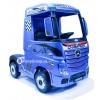 Детский электромобиль Mercedes-Benz ACTROS 4X4 HL358 (полноприводный 4WD, с резиновыми колесами и кожаным сиденьем)