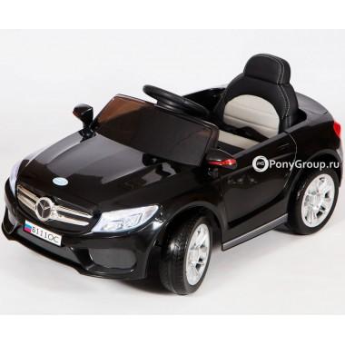 Детский электромобиль Mercedes-Benz Б111ОС (с резиновыми колесами, кожаным сиденьем)