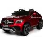 Детский электромобиль Mercedes-Benz Concept GLC Coupe BBH-0008 (резиновые колеса, кожа)