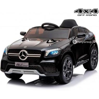 Детский электромобиль Mercedes-Benz Concept GLC Coupe BBH-0008 4x4 ( полный привод, с резиновыми колесами и кожаным сиденьем)