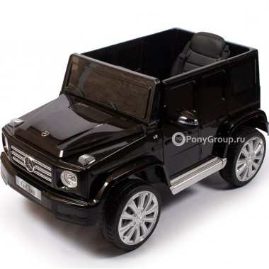 Детский электромобиль Mercedes-Benz G500 JJ2077 (с резиновыми колесами и кожаным сиденьем)