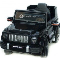 Детский электромобиль Mercedes-Benz G63 AMG BBH-0002 (резиновые колеса, кожа)
