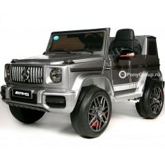 Детский электромобиль Mercedes-Benz G63 AMG ВВН0003 (резиновые колеса, кожа)