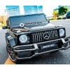 Детский электромобиль Mercedes-Benz G63 S307 4X4 (полноприводный 4WD, двухместный с резиновыми колесами и кожаным сиденьем)