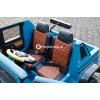 Детский электромобиль Mercedes-Benz Maybach G650 AMG Landaulet 4x4 (полноприводный, двухместный с резиновыми колесами и кожаным сиденьем)