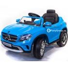 """Детский электромобиль Mercedes-Benz GLA (""""кондиционер"""", резиновые колеса, кожа, регулировка сиденья)"""