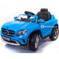 """Детский электромобиль Mercedes-Benz GLA R653 (""""кондиционер"""", резиновые колеса, кожа, регулировка сиденья)"""